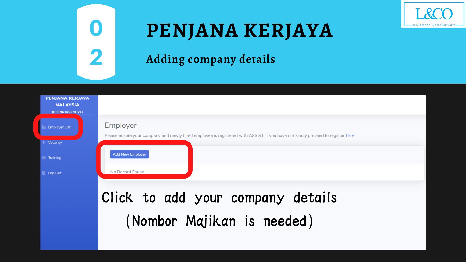 Penjana Kerjaya company details